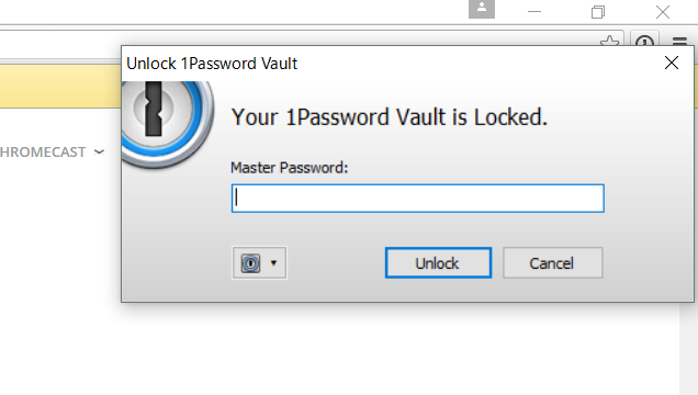 1Passwordマスターパスワード