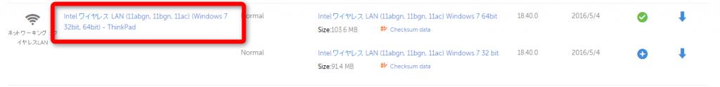 ThinkPad・ドライバー・リリースレター1