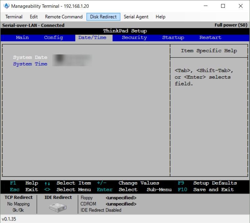 Manageability Commander tool15