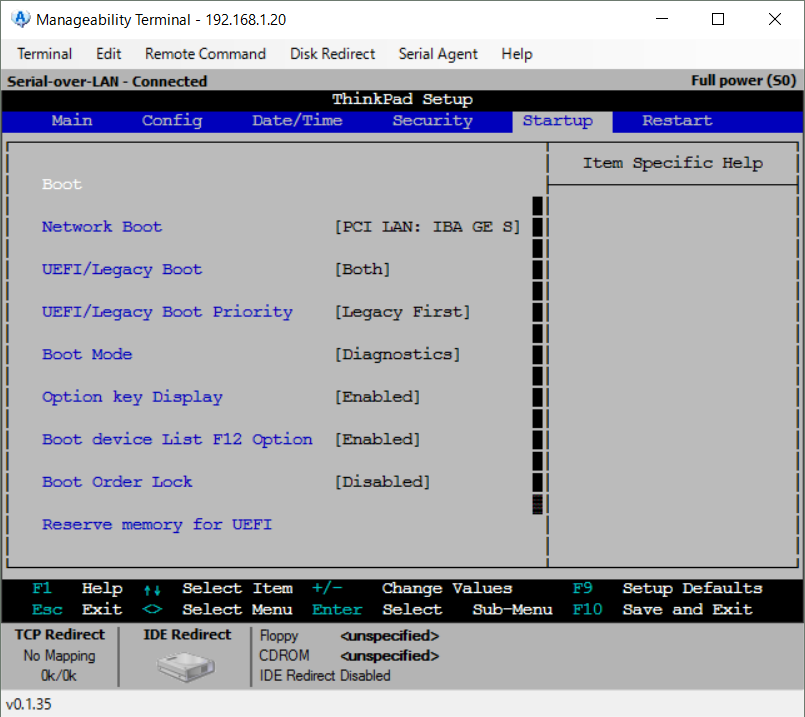 Manageability Commander tool17