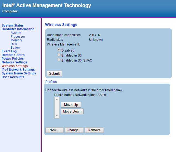 IntelAMT WEB GUI11